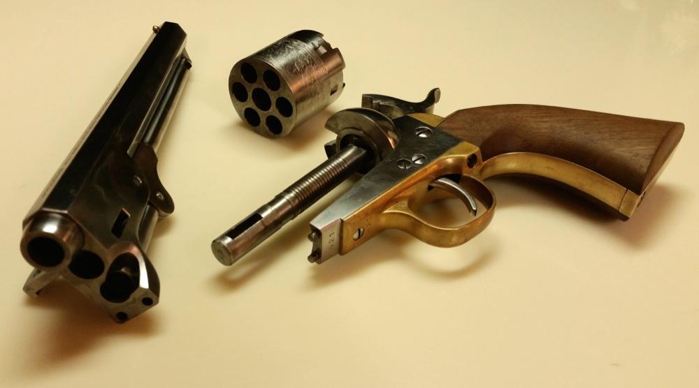 1851 Navy Cap and Ball Revolver